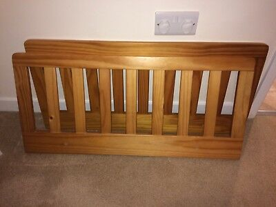 Cot Bed Safety Sides
