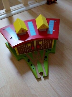 wooden train track compatible with brio bigjigs and thomas