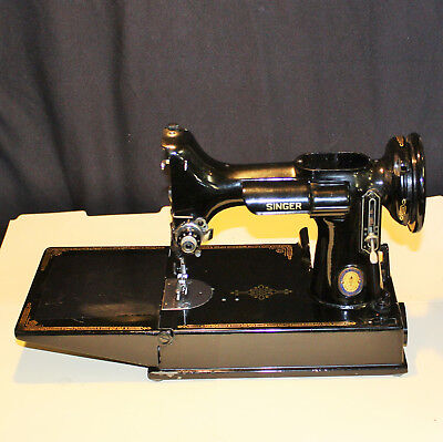 Singer Featherweight Sewing Machine, Serial # AK418606, For Parts