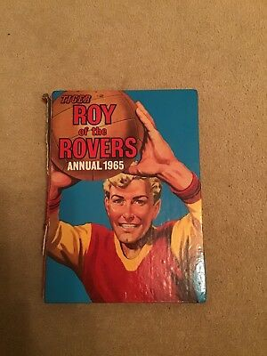 tiger ROY OF THE ROVERS annual 1965