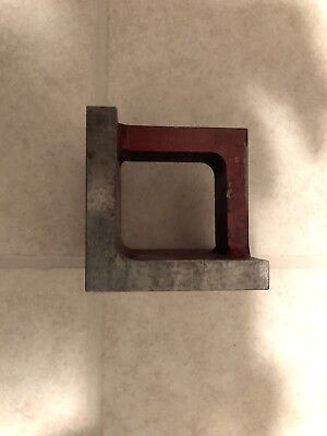 Machinist/ Toolmaker precision angle plate in very good condition.
