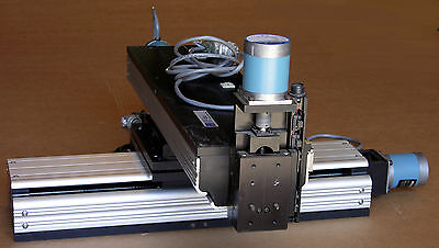 IndustrialDevices  X Y Z Linear stage, MD # PT-PAC001 with motors& encoders
