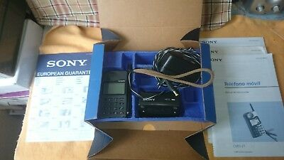 Vintage Cell Phone Sony CMD Z1 in Original box working