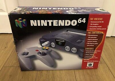 Nintendo 64 / N64 Console Box Only with Original Receipt