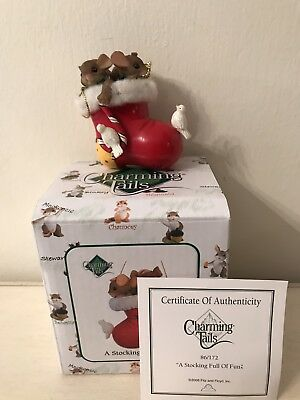 Charming Tails Christmas Ornaments A Stocking Full Of Fun