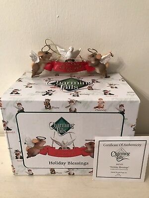 Charming Tails Christmas Ornaments Holiday Blessings