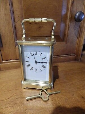 Henry Jacot French Carriage Clock Fully Restored 100% Original Parts Circl 1860s