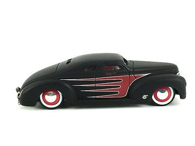 Jada Road Rats 1940 40 Ford Lead Sled Flat Black Die Cast 1/64 Scale Loose
