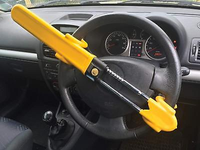 Streetwize Heavy Duty Car Steering Wheel Lock High Security Anti Theft [2850]
