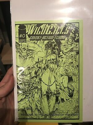 Wildcats #0 Ashcan Edition