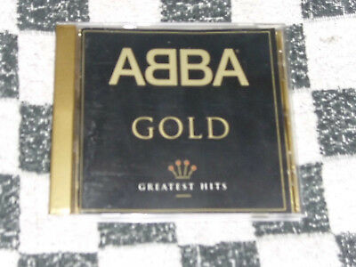 cd - abba gold greatest hits