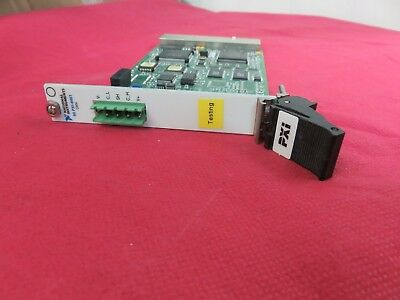 National instruments NI PXI-8461 CAN DeviceNet Card 185316F PXI-8460/8461