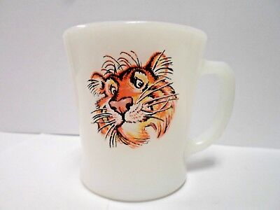 """Vintage """"Tony the Tiger""""   Cereal or Coffee Mug * Anchor Hocking Brand *"""