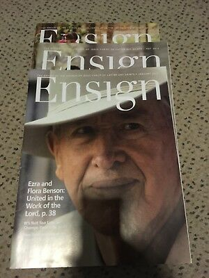 3x Back Issue Ensign LDS Mormon Christian  Magazine 2015