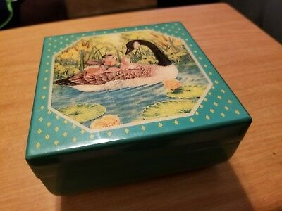 Trinket Jewelry Box The Heirloom Tradition Bywater Hollow 1987 Canadian Goose