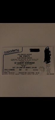 Ticket For The Streets O2 Academy Birmingham 19th Jan