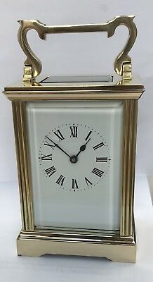 Antique French carriage clock Fully Restored .