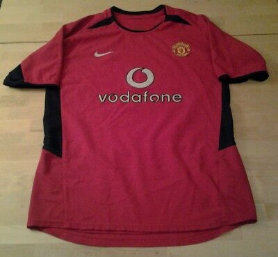 Manchester United home shirt 2002-2004