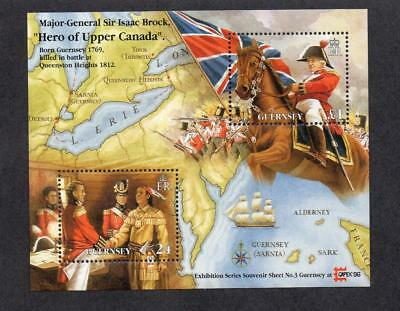 Guernsey Mnh 1996 Ms704 Capex 96 Int Stamp Exhb