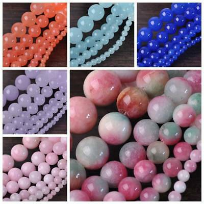 Bulk Wholesale Charms Round Natural Stone Gemstone Spacer Loose Beads 4/6/8/10mm