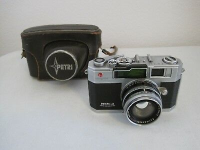 Vintage Petri Orikkor 1:1.9  f=4.5 No. 86613 Color Corrected Super w/Case