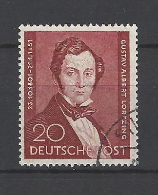 Germany-Berlin 1951 Sc#9N69  Albert Lortzing  Used-Single Stamp Issue  $40.00