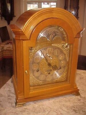 Kieninger MOZART CHERRY CASE 9 BELL CLOCK LIMITED ED. WITH MUSICAL TRIPLE TUNES