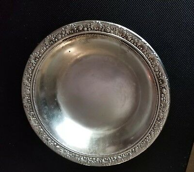1895 Reed & Barton Solid Sterling Silver Candy Dish Nut Bowl 6""