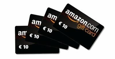 AMAZON Buono Gift Card Voucher credito di 10 euro