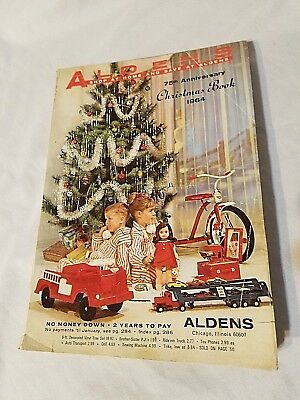 1964 Aldens CATALOG - Christmas Book 1964 - 75th Anniversary
