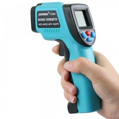 Autool IT200 Non-Contact LCD Laser Infrared Digital Temperature Gun NYPR NEW