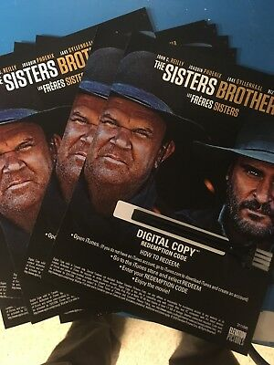 Sisters Brothers Canadian Digital Code Only