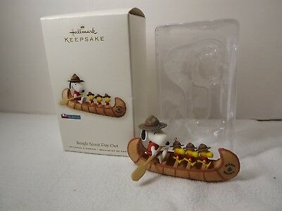 Hallmark Peanuts Snoopy Beagle Scout Day Out Ornament 2008 with Box