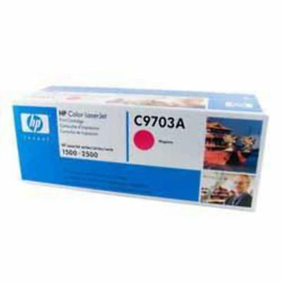 GENUINE HP C9703A Magenta Toner Cartridge 121A