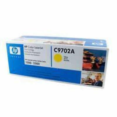 GENUINE HP C9702A Yellow Toner Cartridge 121A