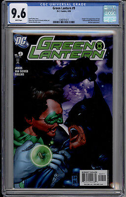 Green Lantern 9 Cgc 9.6 Batman Appearance 1St Appearance Of New Tattooed Man