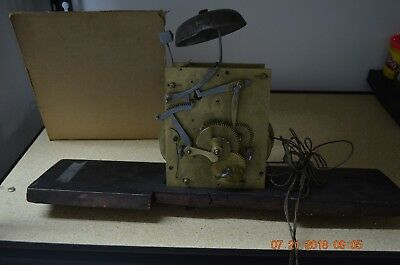 Antique Original GRANDFATHER CLOCK MOVEMENT with Bell for project