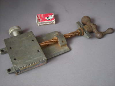 Vintage PIPE BEVELLING MACHINE By H & M - Lathe? Machining? Vice