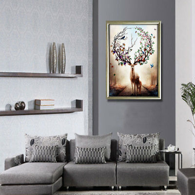 Large Canvas Huge Modern Home Wall Decor Art Oil Painting Picture Print Un SPR