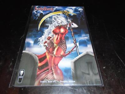 Lady Death Unholy Ruin #1 Naughty Edition Nm Brian Pulido