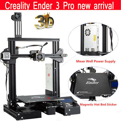 Creality Ender-3 Pro DIY 3D Printer MK10 High-precision 220x220x250mm Large Size