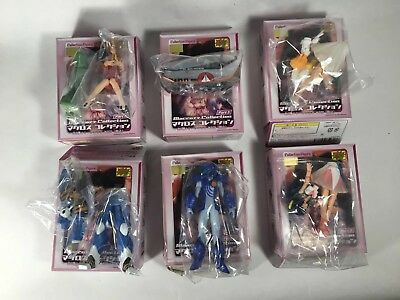 CMS Macross Collection Part 3 - Complete 6 Figure Set Sealed - US Seller