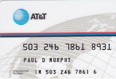 Vintage, Old School ATT Calling Card.  Mint Condition.