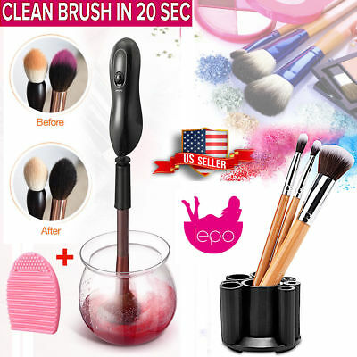 Professional Electric Cosmetic Makeup Brush Cleaner Dryer Drying Washing Machine