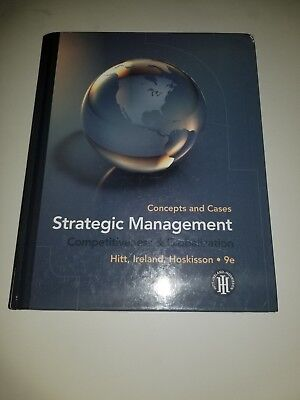 Strategic Management : Concepts and Cases - Competitivene…