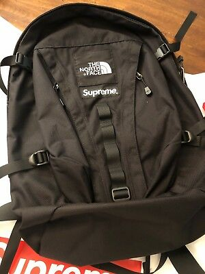 9993aeb1929 Supreme The North Face Expedition Backpack Black FW18 WEEK 15 AUTHENTIC (IN  HAND