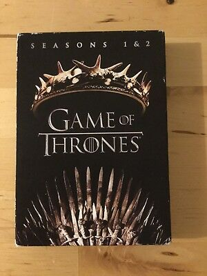 Game of Thrones: Seasons 1 & 2 (DVD, 2017 10-Disc Set)