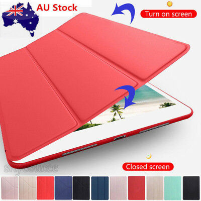 "AU For iPad 6th Generation 9.7"" 2018 (A1893/A1954) Smart Slim Leather Case Cover"
