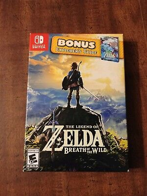 Legend of Zelda: Breath of the Wild -- Explorer's Edition (Nintendo Switch, 201…
