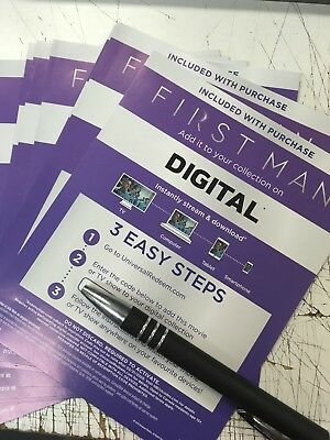 First Man Canadian Digital Code Only